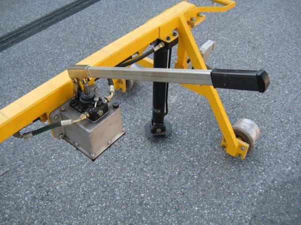 skinneløfter begge skinner hydraulisk