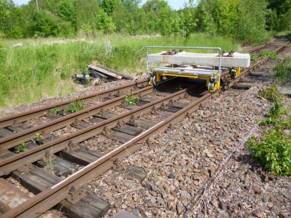 Sveisetralle jernbane